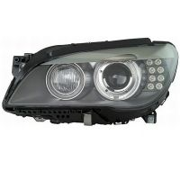 Headlight left front headlight bmw 7 series F01 F02 2009 onwards xenon din. marelli Headlights and Lights