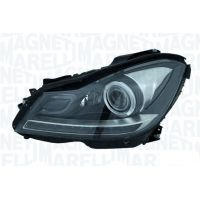 Headlight left front headlight for Mercedes C W204 2011 onwards AFS xenon marelli Headlights and Lights