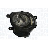 Headlight left front fiat 500 2007 onwards lower black marelli Headlights and Lights