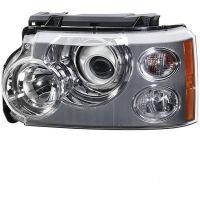 Headlight left front headlight range rover 2005 to 2009 Bi Xenon dynamic hella Headlights and Lights