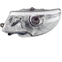 Headlight Headlamp Left front Skoda Superb 2008 to 2013 dynamic xenon hella Headlights and Lights
