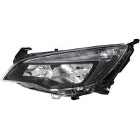 Headlight left front Opel Astra j 2012 onwards H7 led hella Headlights and Lights