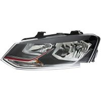 Headlight left front VW Polo 2014 to the gti h7/h7 hella Headlights and Lights