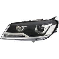 Headlight left front Volkswagen Touareg 2014 to xenon hella Headlights and Lights