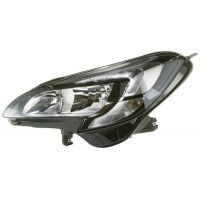 Headlight left front Opel Corsa and 2014 onwards with drl led hella Headlights and Lights