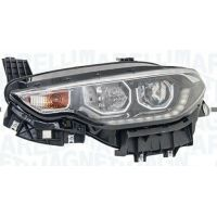Headlight left front fiat type from 2015 onwards with drl led marelli Headlights and Lights