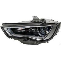 Headlight left front AUDI A3 2012 onwards dark Xenon hella Headlights and Lights