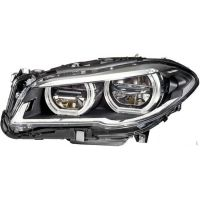 Headlight left front bmw 5 series F10 F11 2013 onwards full led hella Headlights and Lights