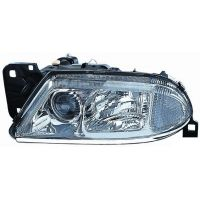 Headlight left front Alfa 166 1998 to 2003 Lucana Headlights and Lights