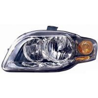 Headlight left front AUDI A4 2005 to 2007 FR/Orange Lucana Headlights and Lights