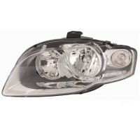 Headlight left front AUDI A4 2005 to 2007 Fr.White Lucana Headlights and Lights