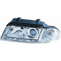 Headlight left front AUDI A4 1999 to 2000 Lucana Headlights and Lights