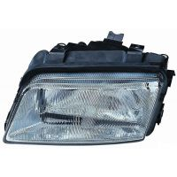 Headlight left front AUDI A4 1994 to 1998 Lucana Headlights and Lights