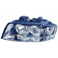 Headlight left front AUDI A4 2000 to 2004 Lucana Headlights and Lights