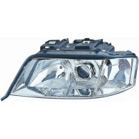 Headlight left front AUDI A6 1997 to 1999 Lucana Headlights and Lights