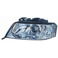 Headlight left front AUDI A6 1999 to 2001 Lucana