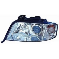Headlight left front AUDI A6 2001 to 2004 Lucana Headlights and Lights