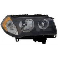 Headlight left front bmx x3 E83 2004 to 2006 h7 Orange Lucana Headlights and Lights