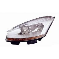 Headlight Headlamp Left front Citroen C4 Picasso 2006 onwards Lucana Headlights and Lights