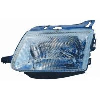 Headlight Headlamp Left front Citroen Saxo 1996 to 1999 Lucana Headlights and Lights