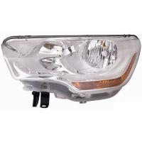 Headlight Headlamp Left front Citroen C4 2010 onwards Lucana Headlights and Lights