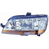 Headlight left front headlight for Fiat Idea 2003 to 2005 Fiat Multipla 2004 onwards without fog lights orange Lucana Headlig...