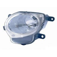 Headlight left front headlight for Fiat 500 2007 onwards lower (high beam) Lucana Headlights and Lights