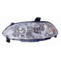 Headlight left front Fiat Croma 2005 to 2007 Lucana Headlights and Lights