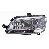 Headlight left front headlight for Fiat Idea 2003 to 2005 Fiat Multipla 2004 onwards with white fog Lucana Headlights and Lights