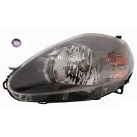 Headlight left front headlight for the Fiat Grande Punto 2008 onwards parable Gray Pink Connector Lucana Headlights and Lights