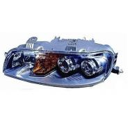 Headlight left front headlight for Fiat Punto 1999 to 2001 with fog lights Lucana Headlights and Lights