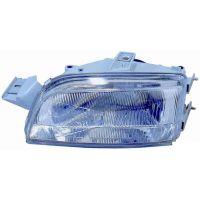 Headlight left front headlight for Fiat Punto 1993 to 1999 H4 Electrical Manual Lucana Headlights and Lights