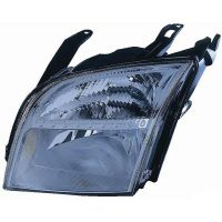 Headlight left front headlight for Ford Fusion 2002 to 2005 with dimmer Lucana Headlights and Lights