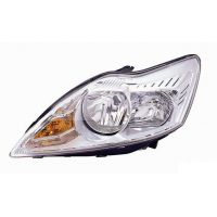 Headlight left front headlight for Ford Focus 2007 to 2010 chrome Lucana Headlights and Lights