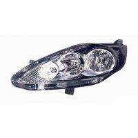 Headlight left front headlight for ford fiesta 2008 onwards parable black Lucana Headlights and Lights