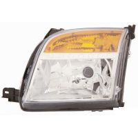 Headlight left front Ford Fusion 2006 onwards Lucana Headlights and Lights