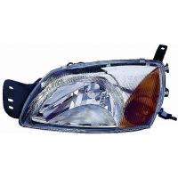 Headlight left front ford fiesta 1999 to 2002 Lucana Headlights and Lights