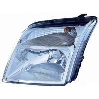 Headlight left front headlight for Ford Tourneo connect 2002 to 2012 Lucana Headlights and Lights