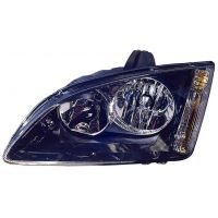 Headlight left front headlight for Ford Focus 2005 to 2007 black Lucana Headlights and Lights