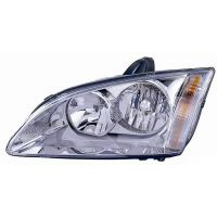 Headlight left front headlight for Ford Focus 2005 to 2007 chrome Lucana Headlights and Lights