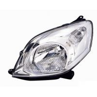 Headlight left front nemo fiorino qubo bipper 2007 onwards Lucana Headlights and Lights