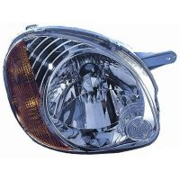 Headlight left front Hyundai Atos first 2002 to 2003 Lucana Headlights and Lights