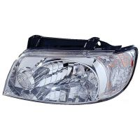 Headlight left front hyundai matrix 2001 onwards Lucana Headlights and Lights