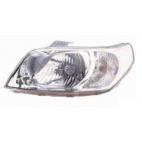 Headlight left front Chevrolet Aveo 2008 onwards Lucana Headlights and Lights