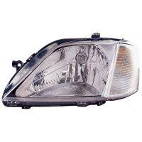 Headlight left front headlight for Dacia Logan 2004 to 2008 Lucana Headlights and Lights