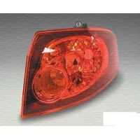 Tail light rear left Fiat Croma 2005 onwards outside Lucana Headlights and Lights
