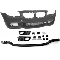 Kit front bumper bmw 5 series F10 F11 2010 onwards m tech with holes lav+sens Lucana Bumper and accessories