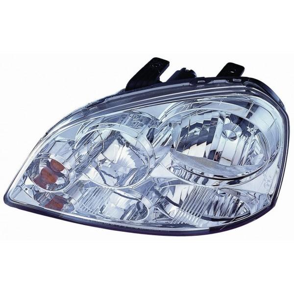 Headlight left front Chevrolet Nubira 2003 onwards Lucana Headlights and Lights