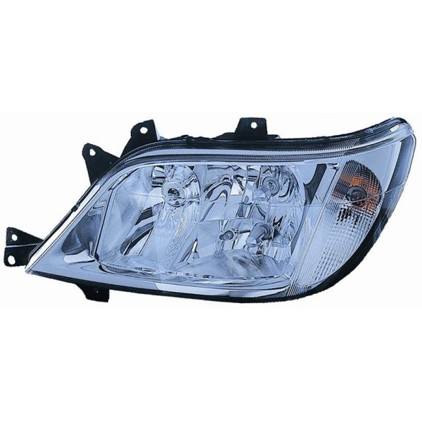 Headlight left front Mercedes Sprinter 2002 onwards without fog lights Lucana Headlights and Lights