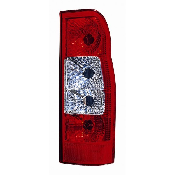 Tail light rear left Ford Transit 2006 onwards Lucana Headlights and Lights